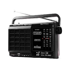 Rádio RM-PU32AC Motobras 6 Faixas AM/FM 8W