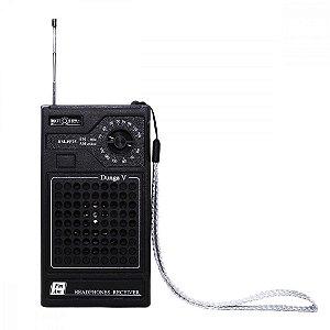 Rádio RM-PF25 Motobras 2 Faixas AM/FM 3W