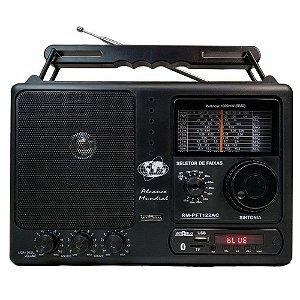 Rádio RM-PFT122AC Motobras 12 Faixas AM/FM 5W