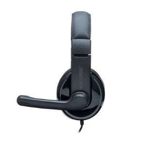 Fone PH317 Multilaser Headset Pro Usb Preto