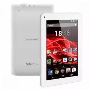 "TABLET NB317 MULTILASER M7S GO 7"" 16GB BRANCO"