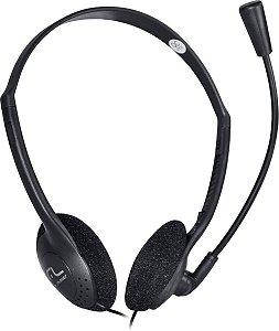 Fone Headset Multilaser PH002 Preto