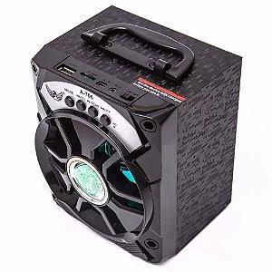 Caixa de Som Bluetooth Ltomex A-706 Preta 8W