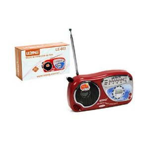 RADIO LE-603 LELONG 2 FAIXAS AM/FM 2W
