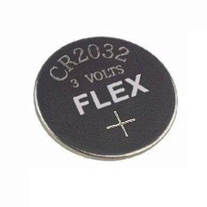 PILHA BOTAO FX-CR2032-3V FLEX (CADA)