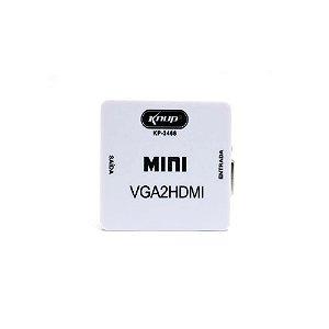 CONVERSOR KP-3466 KNUP VGA PARA HDMI