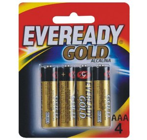 PILHA 3A EVEREADY GOLD C/4
