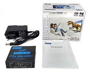 SPLITER HDMI KP-3471 KNUP 1 E X 2 S