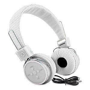 Fone de Ouvido Headset Knup KP-367Bt Branco