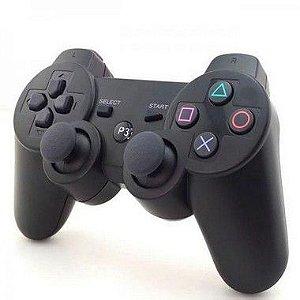 JOYSTICK P/ PS3 DOUBLE SHOCK XLS S/ FIO