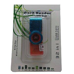 Leitor Memoria  Micro SD 201A