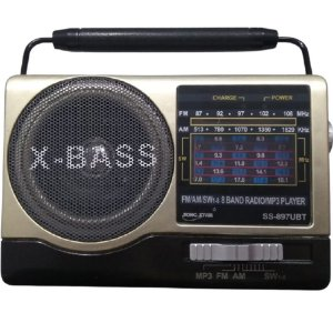 Rádio SS-897UBT Song Star 8 Faixas AM/FM 3W