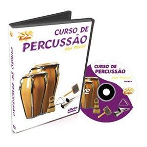 Dvd Video Aula Curso De Percussão Vol.1
