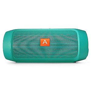 Caixa de Som Bluetooth AL-006 Verde 15W