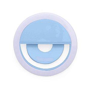 Ring Ligth Selfie para Celular Azul