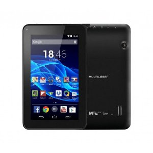 TABLET NB184 M7S MULTILASER 7'' PRETO