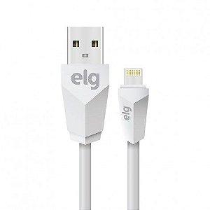 Cabo USB para Lightning L820 Branco 2 Metros ELG
