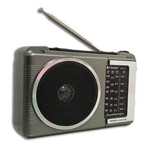 Rádio Portatil LivStar CNN-1394 4 Faixas Am/Fm 3w