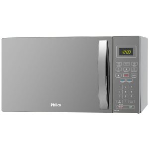MICROONDAS PMO26ES PHILCO 26L PRATA 127V 1400W