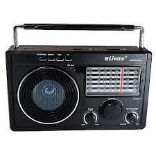 RADIO CNN-686RU LIVSTAR 11 FAIXAS AM/FM 3W