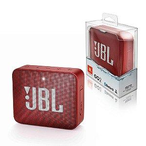 Caixa de Som GO 2 JBL Vermelha 3W
