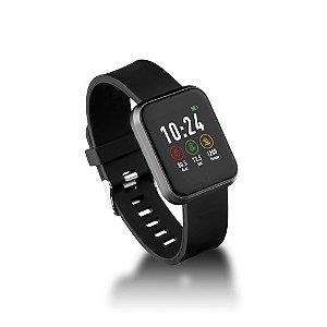Smartwatch Multilaser  ES265 Londres HR Preto IP68