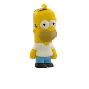 Pen Drive Homer 8Gb Usb 2.0 Multilaser PD070