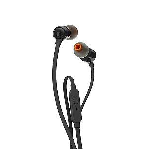 Fone de Ouvido Intra-Auricular JBL T110BLK Preto