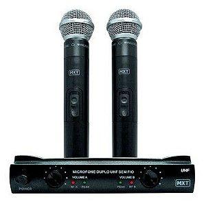 MIC UHF-302 MXT DUPLO S/ FIO 54.1.120