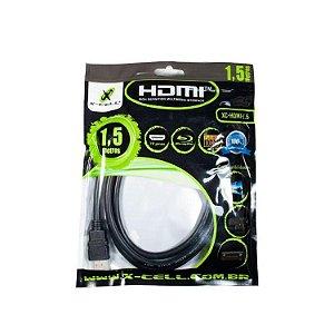 CABO HDMI 1.4V XC-HDMI-5 X-CELL C/ FILTRO 5MT