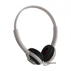 Fone de Ouvido Headset Knup  Kp-393 Branco
