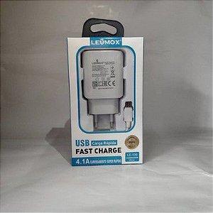 CARREGADOR LE-139 LEHMOX 4.1A