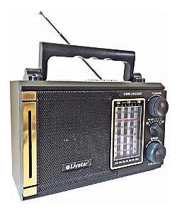 RADIO CNN-2833RU LIVSTAR 3 FAIXAS AM/FM 3W