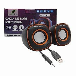 Caixa de Som para PC  X-Cell XC-CM-11