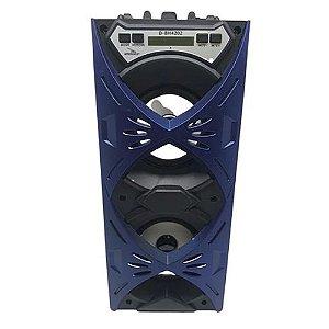 Caixa de Som Grasep D-BH4202 Azul