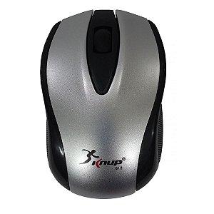 Mouse sem Fio Knup G12 1200DPI Prata