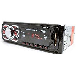 Auto Rádio Knup KP-C28BH