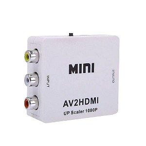 Conversor de RCA (AV) para HDMI