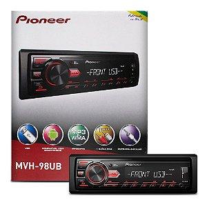 Auto Rádio MVH-98UB Pioneer