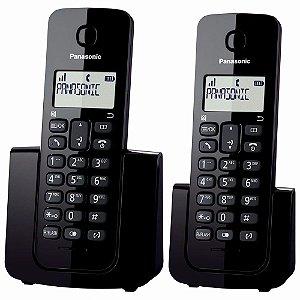 TEL S/ FIO PANASONIC KX-TGB112LB C/RAMAL