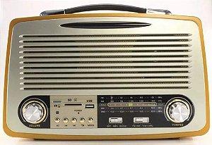 RADIO SS-938UBT SONG STAR 4 FAIXAS AM/FM 3W