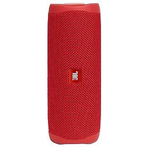 Caixa de Som Bluetooh Jbl Flip 5 Vermelha 20W