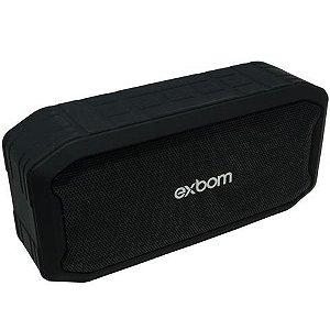 Caixa de Som Exbom Cs-m86bt Preta 5w