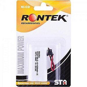 BATERIA P/ TELEFONE 2RT600AA-UN RONTEK S/ FIO