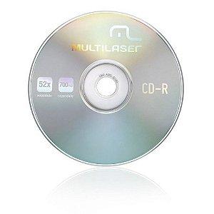 CD-R CD051 MULTILASER 52x (UNIDADE)
