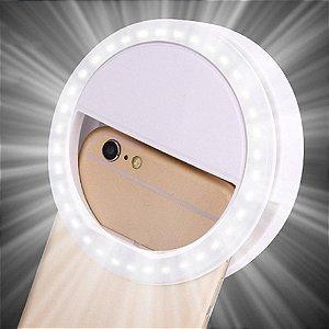 Ring Ligth Selfie para Celular Branco