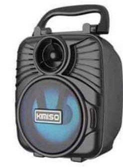 CAIXA DE SOM KMS-1183 KIMISO PRETA 5W