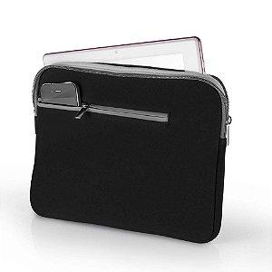 Capa para Notebook Até 14'' Multilaser BO207 Preta