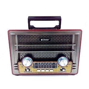 Rádio Portátil Livstar CNN-2426BT 4Faixas AM/FM 8W