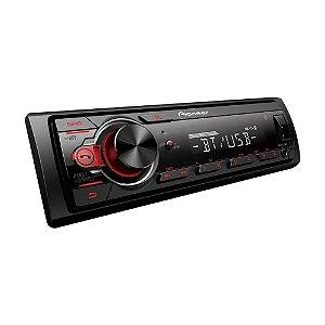 Auto Rádio Pioneer MVH-S218BT MP3 Player Preto